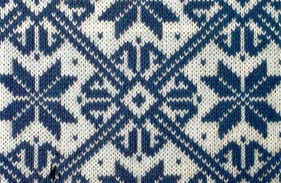 Вязания варежек узоры снежинки
