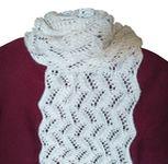 Ажурный женский шарф