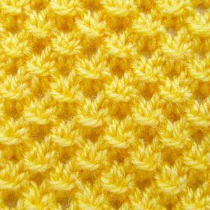 узор ажурный для детей желтый