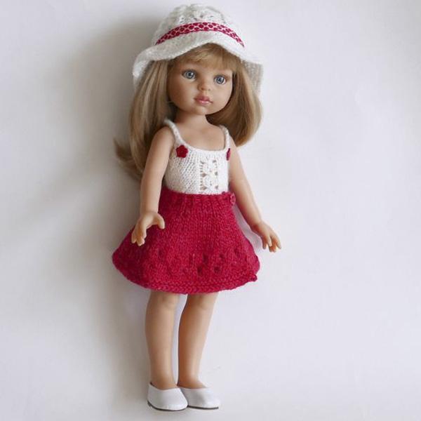 летний комплект одежды для куклы Паола Рейна