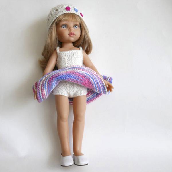 связаная одежда для кукол
