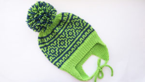 шапка с ушками для мальчика